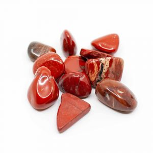 Tumbled Stones Red Jasper (20 to 40 mm) - 200 grams