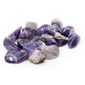 Amethyst Tumbled Stones (20 to 40 mm) - 200 grams