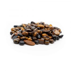 Tumbled Stones Tiger eye (5 to 10 mm) - 100 grams