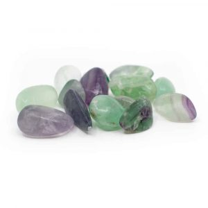 Tumbled Stones Fluorite (20 to 40 mm) - 200 grams