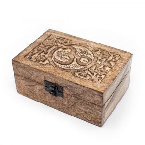 Storage box Sustainable Wood OHM Handmade (15 cm)