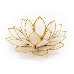 Lotus Mood Light Natural Gold Edge - Deluxe