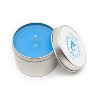 Natural Scented Candle 5th Chakra - Vanilla