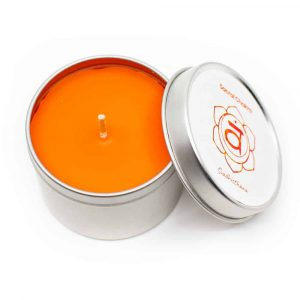 Natural Scented Candle 2nd Chakra - Patchouli