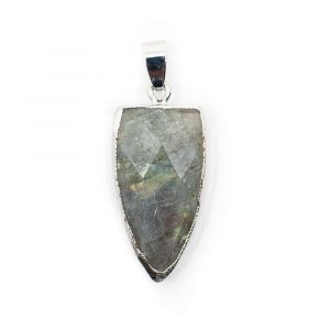 Labradorite Pendant Spear shape (30 mm)