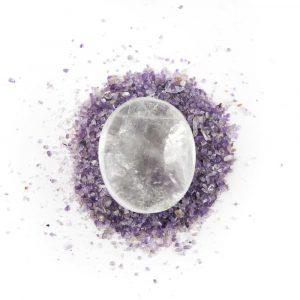 Worry Stone Rock Crystal