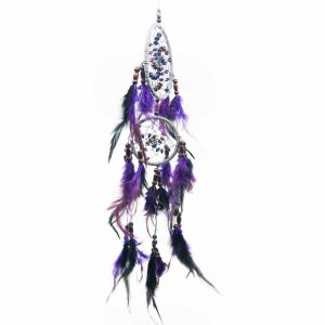 Dreamcatcher Bead Spiral Purple (45 cm)