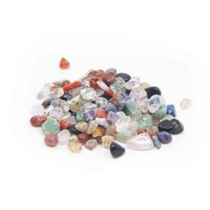 Tumbled Stones Quartz Mix (5 to 10 mm) - 100 grams