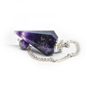 Pendulum Gemstone Amethyst Facet