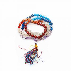 7 Chakra Gemstone Mala - 108 beads