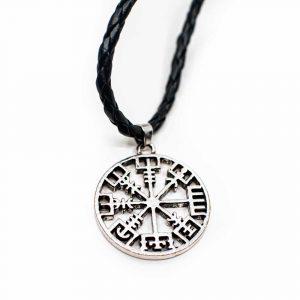 Protection Pendant Viking Rune Compass