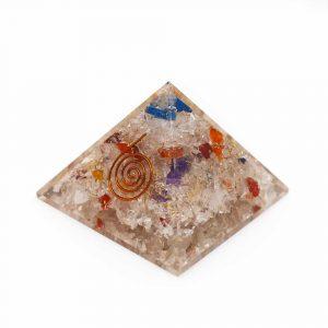 Orgone Pyramid Chakra (70 mm)