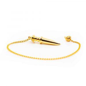 Golden Pendulum Metal Sword