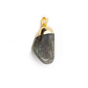 Labradorite Tumbled Stone Pendant