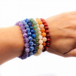 Gemstone Bracelet Chakra (set of 7)