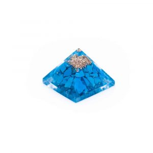 Orgonite Baby Pyramid of Turquoise