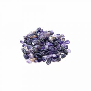 Amethyst Tumbled Stones (5 to 10 mm) - 100 grams