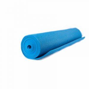 Yogi and Yogini Yoga Mat PVC Blue - 185 x 63 x 0.5 cm