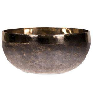 Singing Bowl Ishana Black - Gold (10 cm)