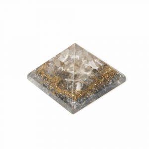 Orgonite Pyramid Mini Rock Crystal (25 mm)