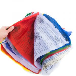 Prayer Flags Tibetan Large (25 flags - 8 metres long)