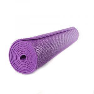 Yogi and Yogini Yoga Mat PVC Violet - 185 x 63 x 0.5 cm