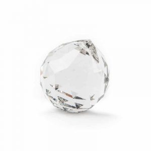 Rainbow Crystal Ball Transparent (30 mm)