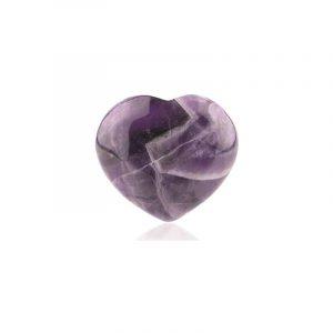 Amethyst Precious Stone Heart (10 mm)