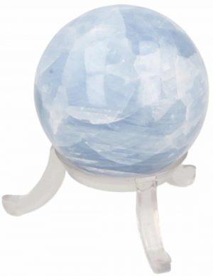 Gemstones Sphere Calcite Blue (40 mm)