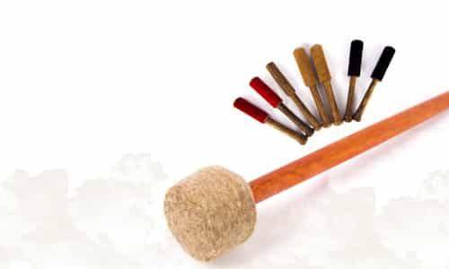 Singing Bowl Mallets & Sticks