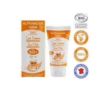 Vegan Sunscreen milk for babies (SPF 50)