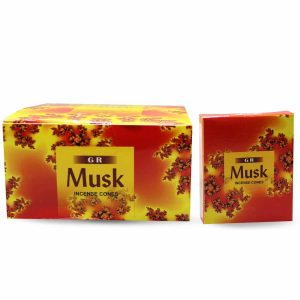 G.R Incense Cone Musk (12 packets)