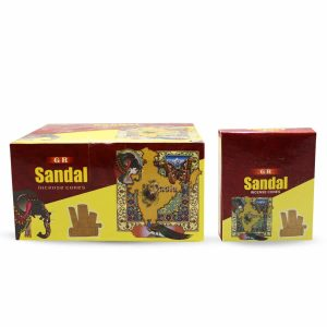 G.R Incense Cone Sandalo (12 packages)