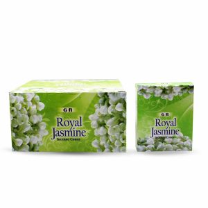 G.R Incense Cone Royal Jasmine (12 packets)