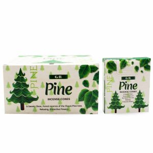 G.R Incense Cone Pine (12 packets)