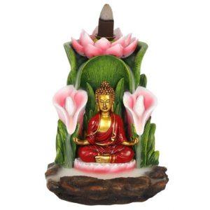 Backflow Incense Burner Buddha