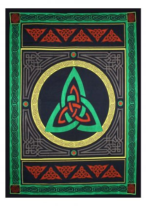 COTTON TAPESTRY TRIQUETRA W/COLOR SHEET ONLY