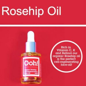Vegan Organic Rosehip Cell Regenerating Face Oil