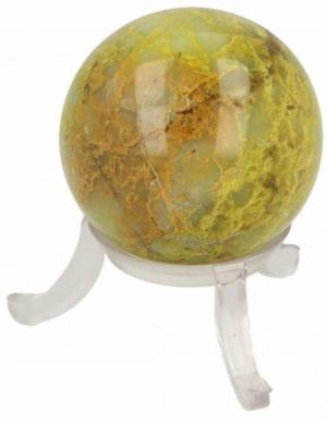 Gemstones Sphere Opal Green (40 mm)