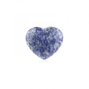 Gemstone Heart of Sodalite (45 mm)