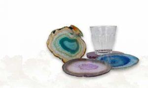 Gemstone Coasters