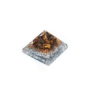 Orgonite Baby Pyramid with Tiger's Eye