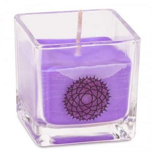 Rapeseed Wax Ecological Scented Candle 7th Chakra - Crown Chakra