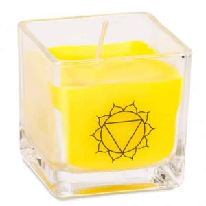Rapeseed Wax Ecological Scented Candle 3rd Chakra - Solar Plexus Chakra