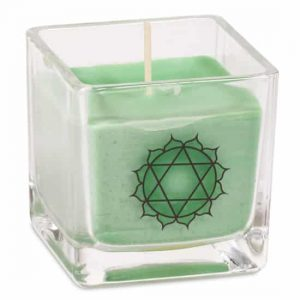 Rapeseed Wax Ecological Scented Candle 4th Chakra - Heart Chakra
