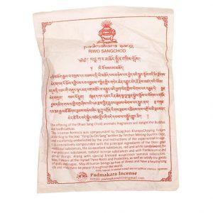 Tibetan Incense Powder Riwo Sangchod