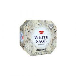 HEM Incense Spirals White Sage