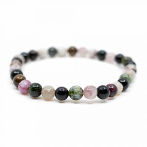 Gemstone Bracelet Tourmaline Mix