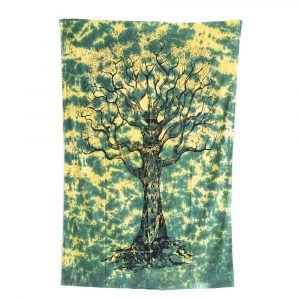 Tree of Life Tapestry Cotton Authentic (215x135cm)