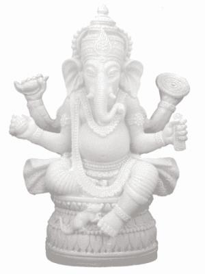 Ganesha Picture - 17 Cm